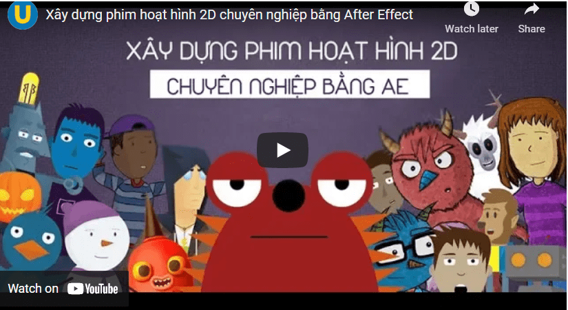 Dựng phim bằng after effect